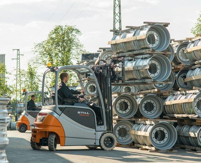 still-forklift-truck